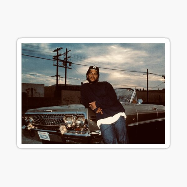 Old School ICE CUBE Sticker