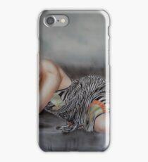 Sarah Michelle Gellar - Airbrush Portrait iPhone Case/Skin