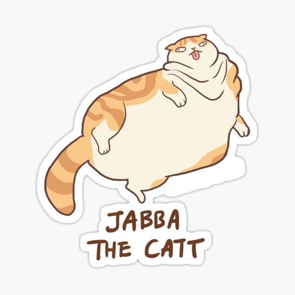 Waffles the Catt Sticker