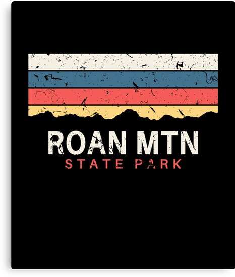 """Roan Mountain State Park: """"Roan Mountain State Park Tennessee"""" Canvas Print By"""
