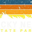 Rocky Neck State Park Connecticut Vintage Souvenirs by Skylar Harris