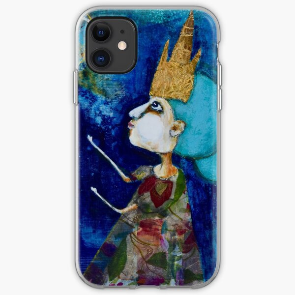 Princess Indu Summons the Moon iPhone Soft Case