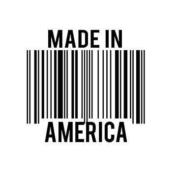 Made In America Bar Code by everything-shop