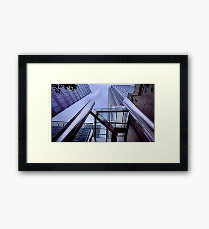Canary Wharf Architecture Framed Print