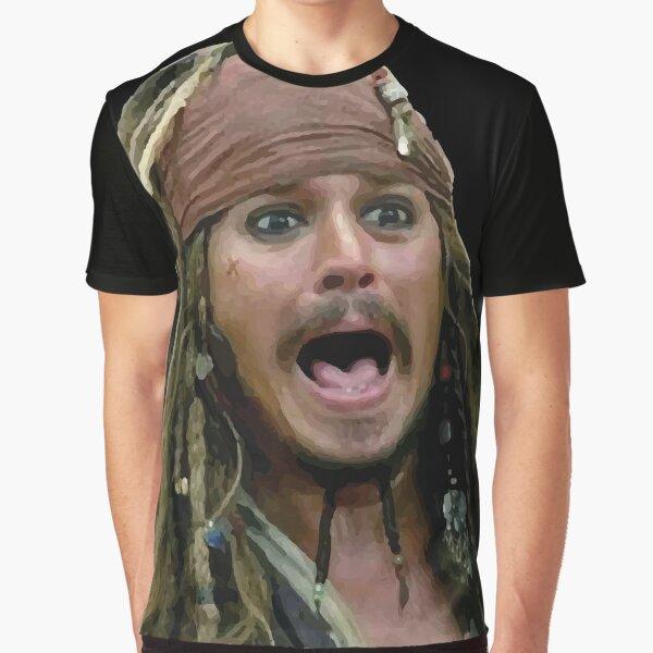 ★ Pirates Art | Jack Graphic T-Shirt