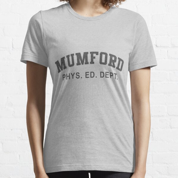 Beverly Hills Cop Mumford T-shirt Weathered Axel Foley Phys Ed Dept Detroit 80s vintage retro Essential T-Shirt