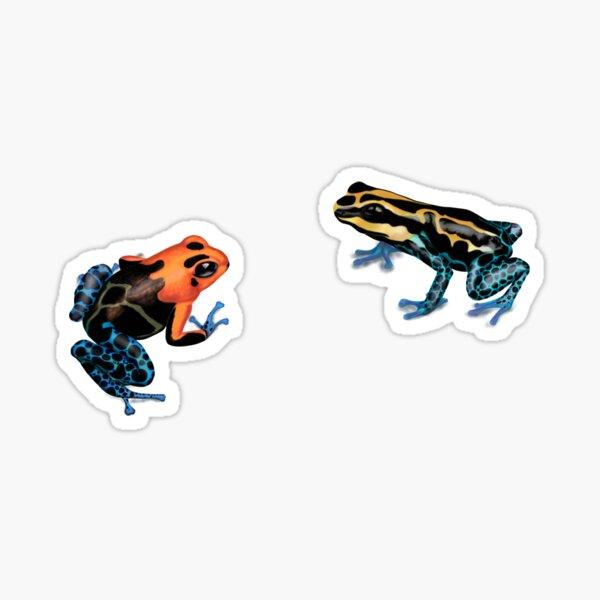 Poison Dart Frogs Sticker