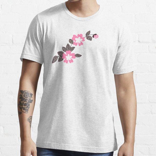 Flower Pattern - Pink Essential T-Shirt