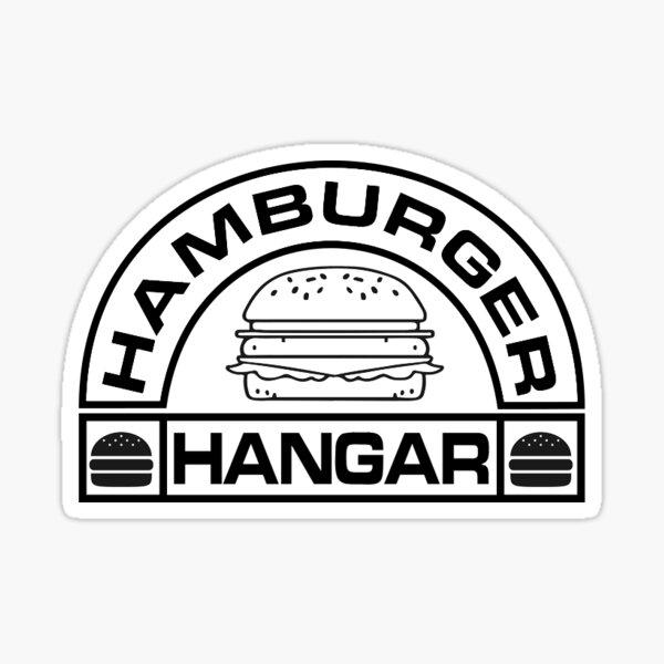 Hamburger Hangar Logo Sticker