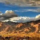 Sunset on Catalina Mountains, Tucson AZ by Kenn Jensen