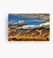 Sunset on Catalina Mountains, Tucson AZ Canvas Print