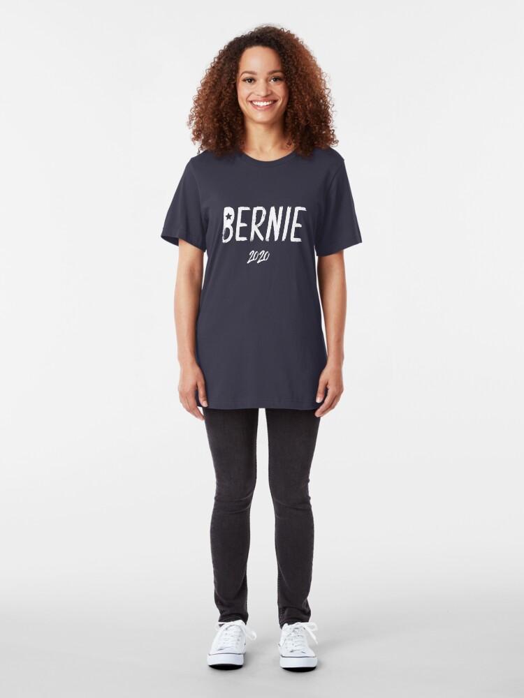 Alternate view of Bernie 2020 Slim Fit T-Shirt