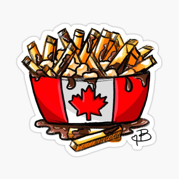 Poutine Sticker