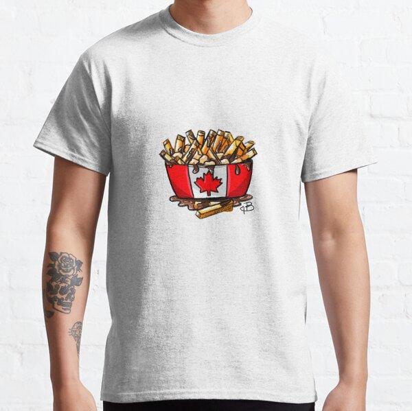 un plat traditionnel au Canada spécialement au Québec. T-shirt classique