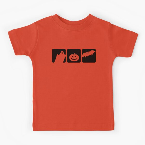 halloween silhouette Kids T-Shirt