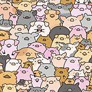 «Cerdos, lechones y un cerdo!» de KiraKiraDoodles