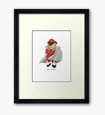 BEARS and FIGHTERS - M. Bison Framed Print