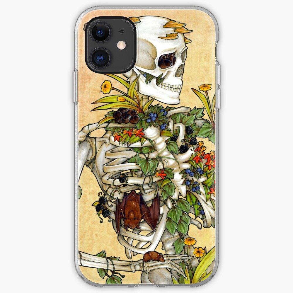 Bones and Botany iPhone Case & Cover