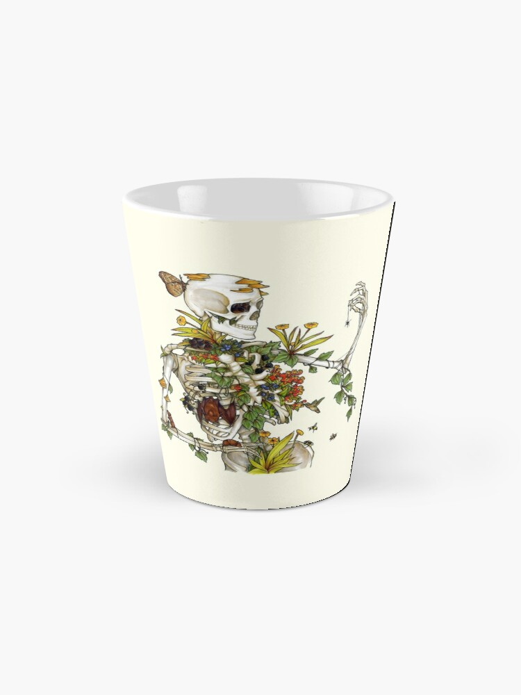 Alternate view of Bones and Botany Mug