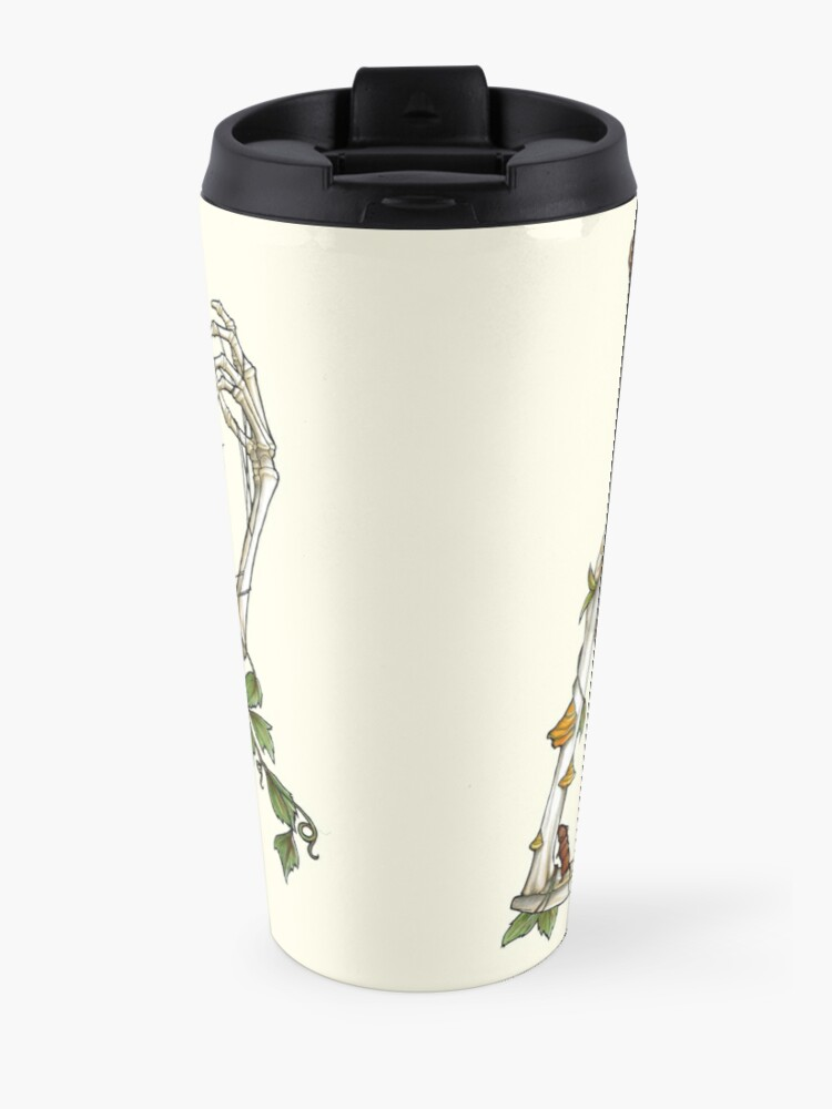Alternate view of Bones and Botany Travel Mug