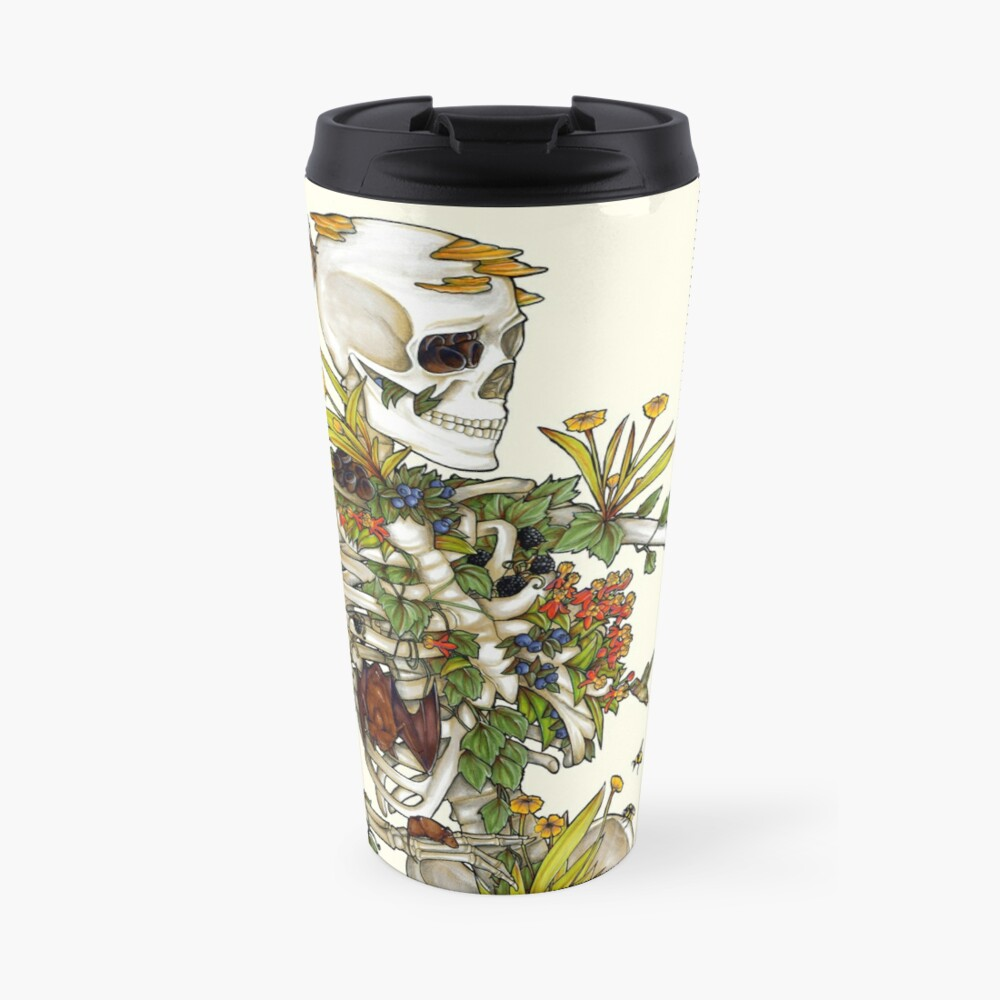 Bones and Botany Travel Mug