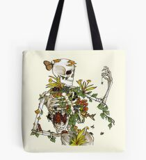 Bones and Botany Tote Bag