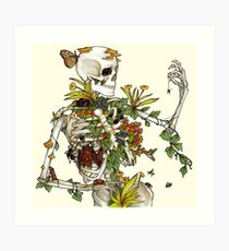 Bones and Botany Art Print