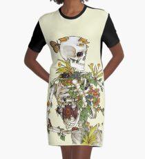Vestido camiseta Huesos y Botánica