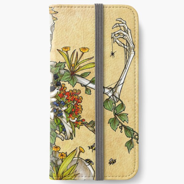 Bones and Botany iPhone Wallet