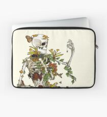 Bones and Botany Laptop Sleeve