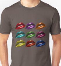 Pop Art Lip Design Unisex T-Shirt