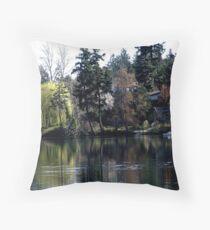 Gorge Waterway (1) Throw Pillow