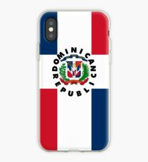 Dominican Republic Coat of Arms All Over T-shirt Apparel iPhone Case