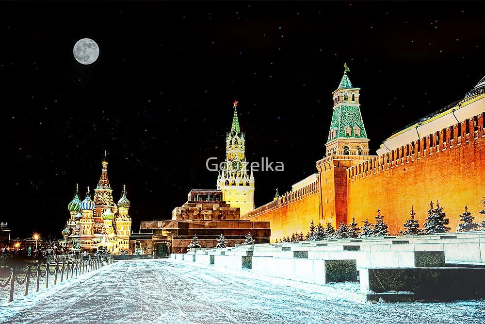 Starry night  by Gouzelka
