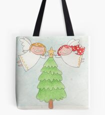 December - Year of Sisters - Watercolor Tote Bag