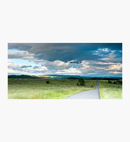 Cloud Filled Sky Photographic Print