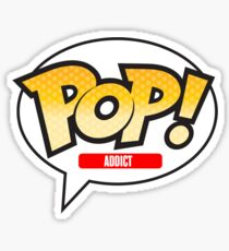 Funko Pop Addict Sticker