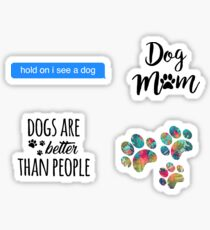 Dog Pack Sticker