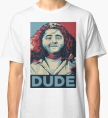 DUDE, It's Hurley Reyes from the TV show LOST Classic T-Shirt