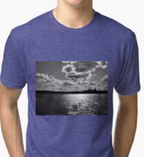 Sky - Gripped Tri-blend T-Shirt