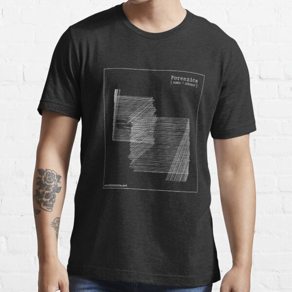 Forenzics - Static and Silence White Essential T-Shirt