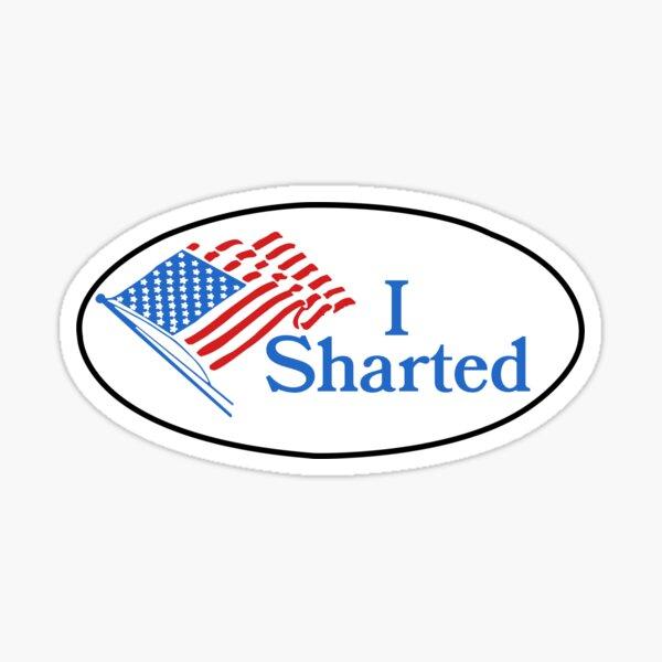 I sharted sticker Sticker