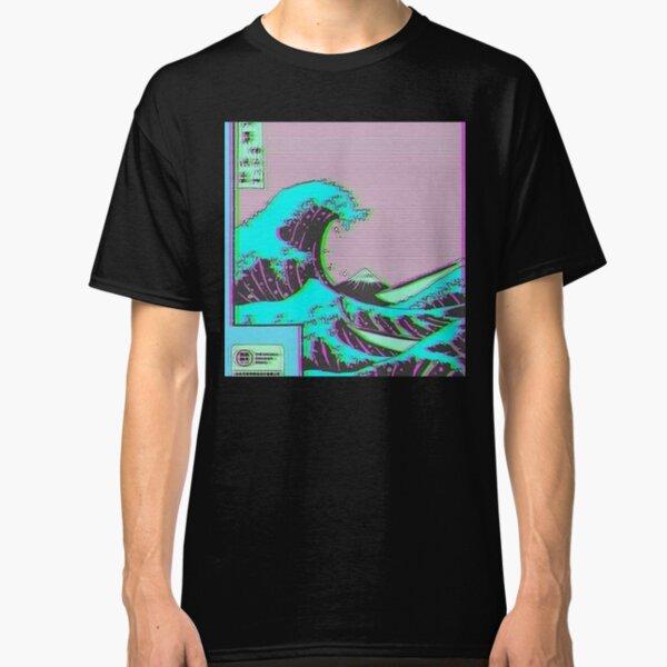 The Great Wave off Vaporwave Kanagawa Classic T-Shirt