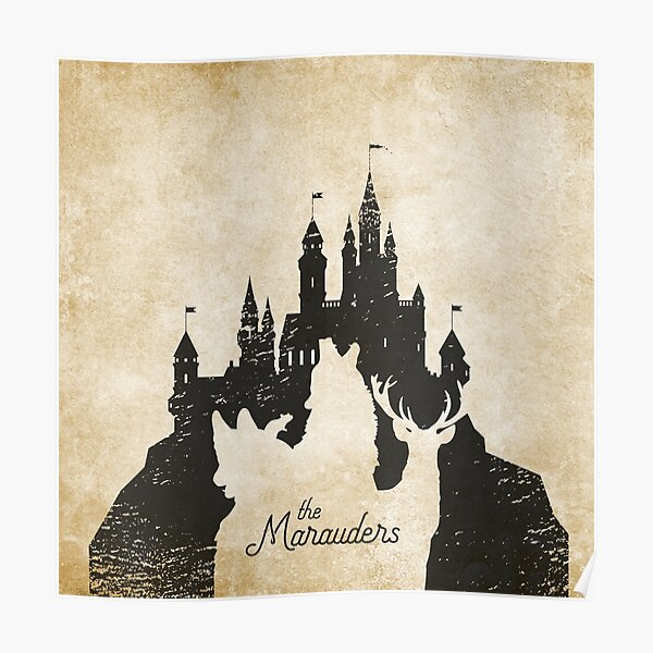 The Marauders Castle Poster
