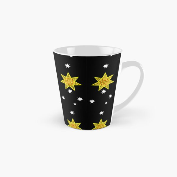 one day, someday, maybe, just a thought, banner on black Tall Mug