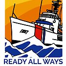 Coast Guard 210 Ready All Ways by AlwaysReadyCltv