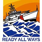 Coast Guard 154 FRC Action Today by AlwaysReadyCltv