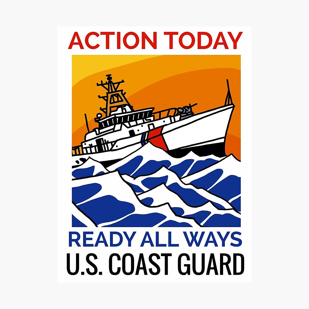 Coast Guard FRC Action Today Photographic Print