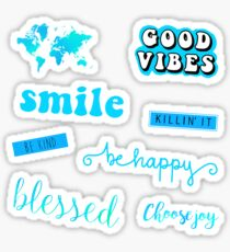 Blue Pack Sticker
