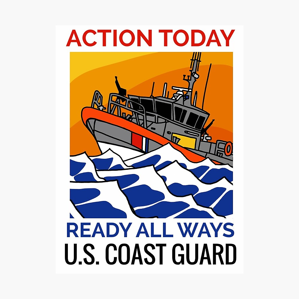 Coast Guard RB-M Action Today Photographic Print